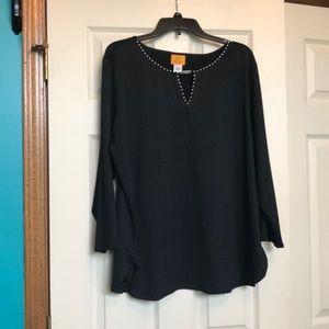 Ruby Rd. Black shirt